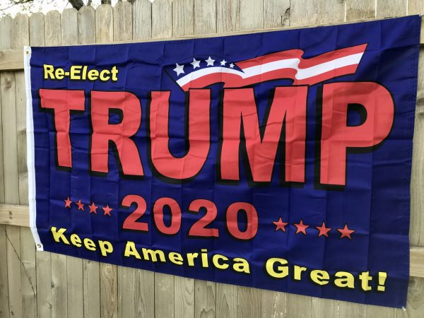 Re-Elect Trump 2020 Flag