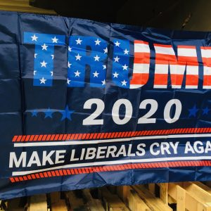 Trump 2020 Make Liberals Cry Again Flag