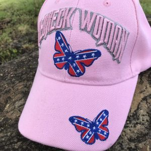 Redneck Woman Confederate Cap