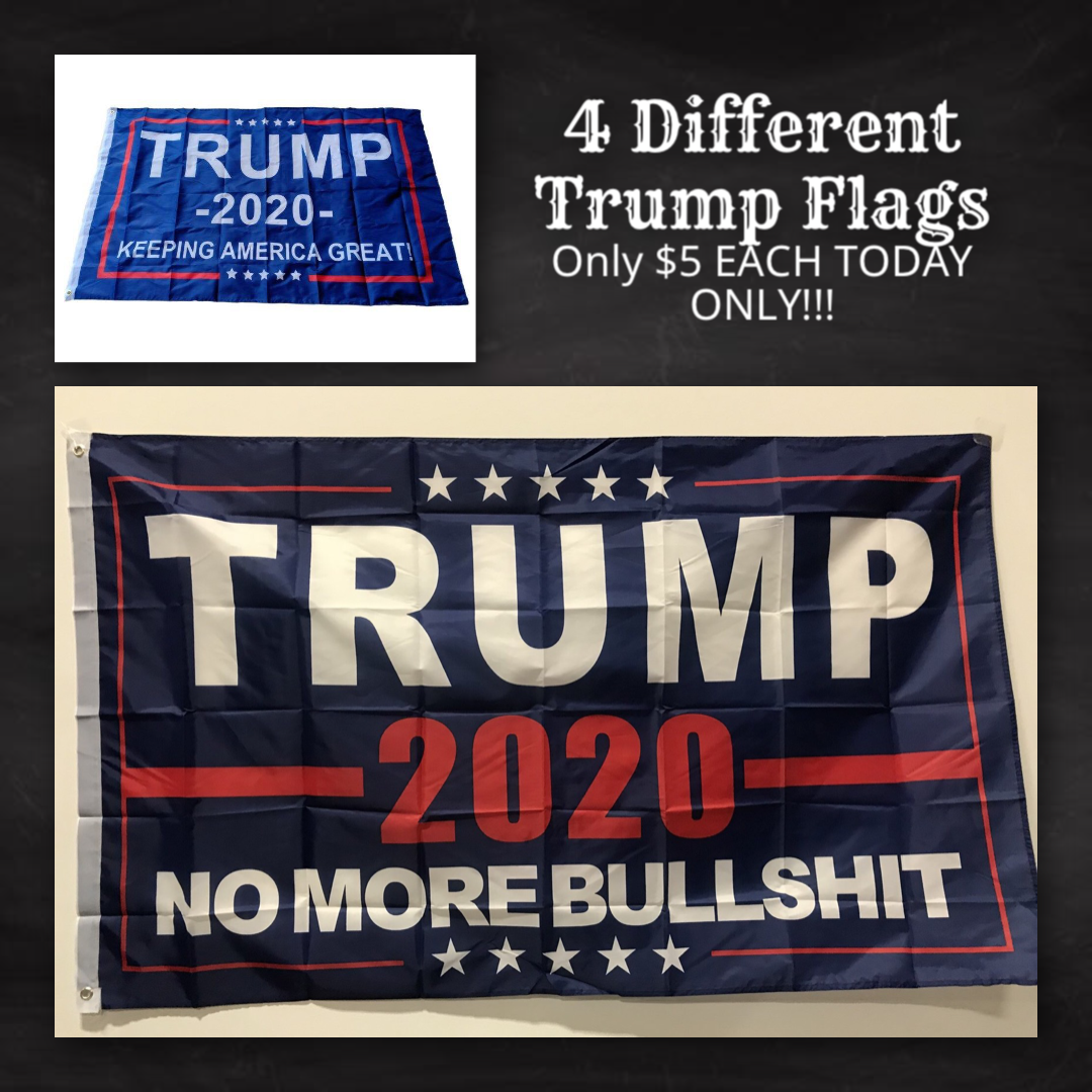 President Donald Trump Flags