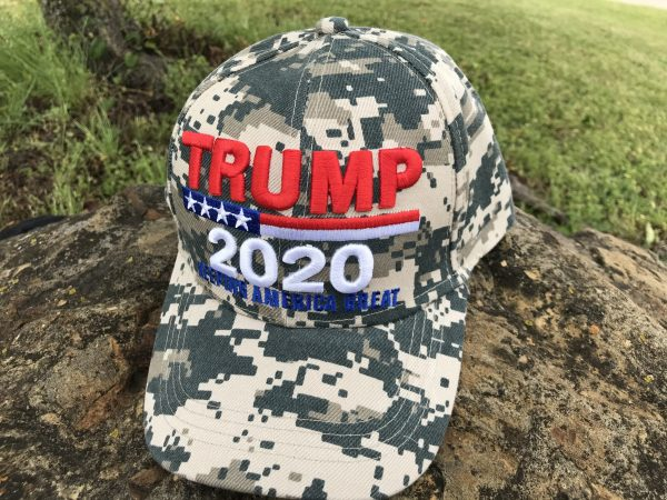 Trump 2020 Digital Camo Hat