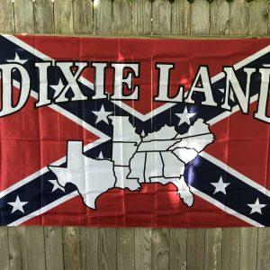 Dixie Land Confederate Flag