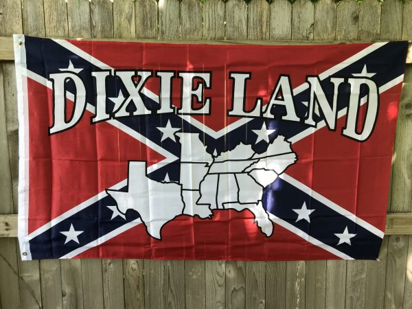 Dixie Land Confederate Flag