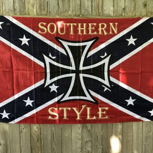 Southern Style Rebel Flag