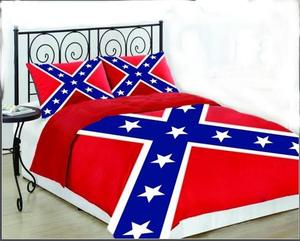 Rebel Nation Rebel Comforter Set with Shams For Sale $64.95