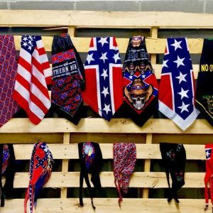 Confederate Flag Bandanas and Do Rags