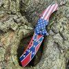 Rebel USA Flag Combat Knife