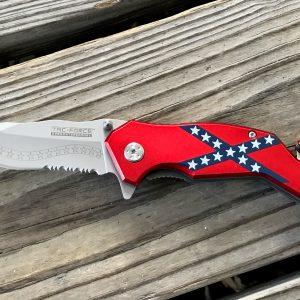 Tactical Rebel Flag Knife