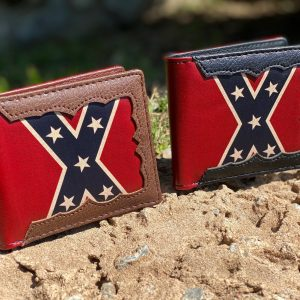 REBEL FLAG WESTERN WALLETS