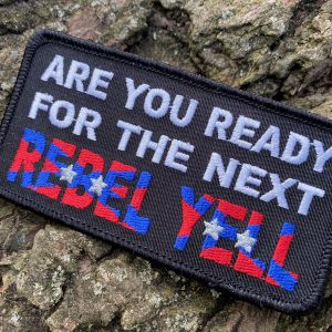 Rebel Yell Confederate Patch