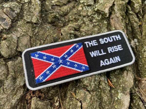 South Will Rise Again Rebel Flag Patch