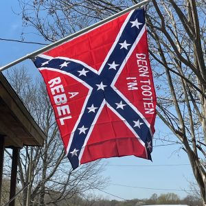 dern totten confederate rebel flag