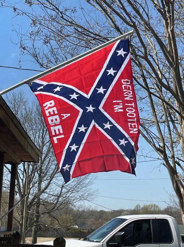 dern totten confederate rebel flag