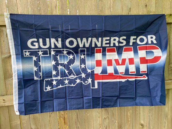 Gun Owners For Trump Flag