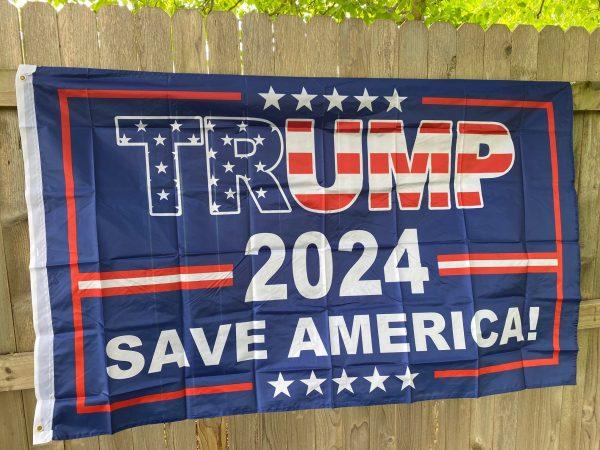 Trump 2024 Save America Flag 3' x 5'
