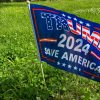 Trump Save America 2024 12' x 18 Stick Flag