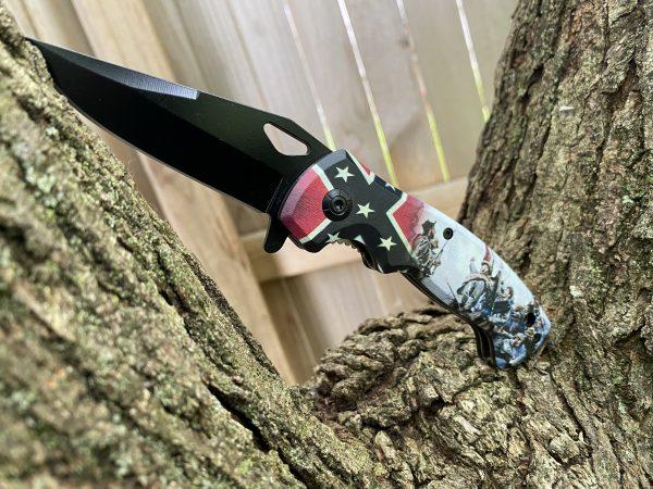 Rebel Flag War Knife
