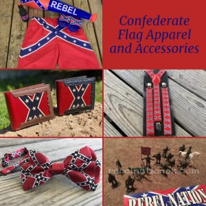 Confederate Flag Apparel and Accessories