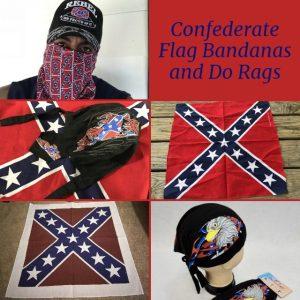 Confederate Flag Bandanas and Do Rags