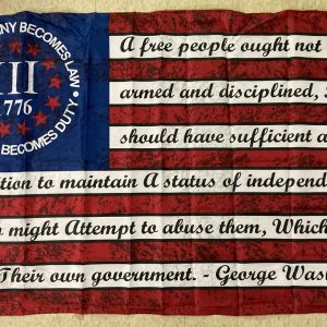 Betsy Ross 1776 When Tyranny Becomes Law 3 Percent Flag