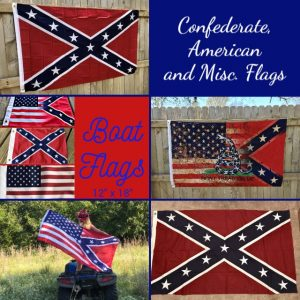Confederate, American and Misc. Flags