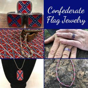 Confederate Flag Jewelry