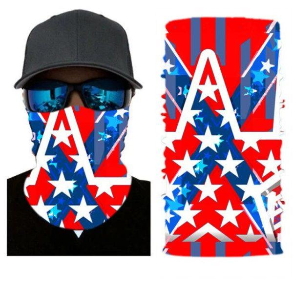 Confederate Flag Neck Gaiter