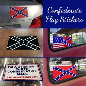 Confederate Flag Stickers
