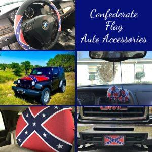 Confederate Flag Auto Accessories
