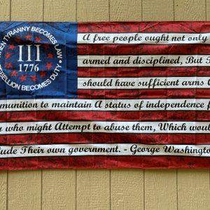 betsy ross tyranny flag
