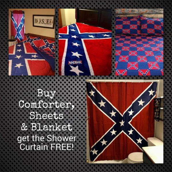 Confederate Flag Bedroom Bundle