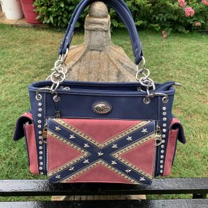 Montana West Confederate Flag Conceal Carry Purse